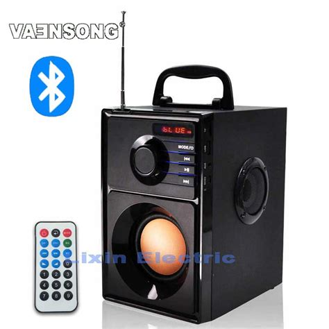 Speaker System Usb 20 2 Speaker vaensong a10 portable stereo bluetooth speaker 2 1 subwoofer can play tf card and usb and fm