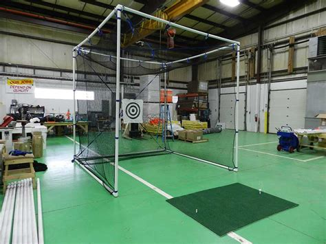 golfing nets for a backyard diy backyard golf net outdoor furniture design and ideas