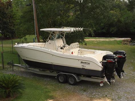 cat boats for sale world cat 270te boats for sale