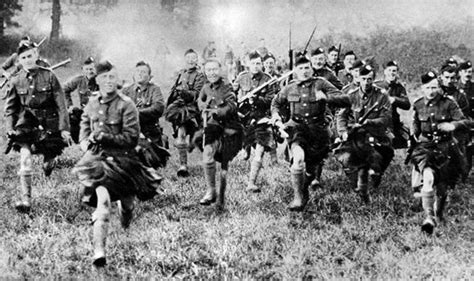 Russ Camel 2 Others scottish soldiers wwi the scots were nothing if guns