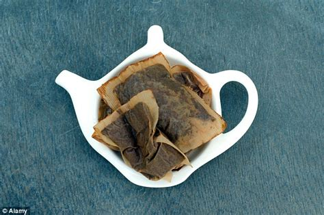 how to use tea bags 15 surprising things to do with used teabags daily mail