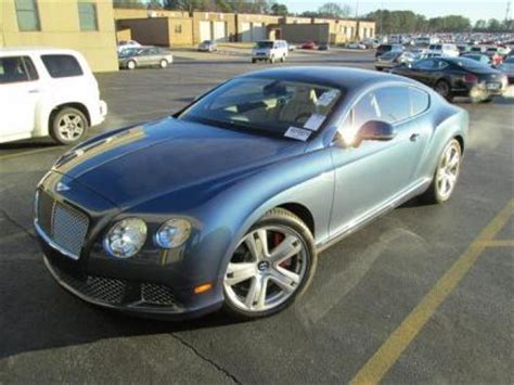books about how cars work 2005 bentley continental spare parts catalogs export used 2005 bentley continental gt blue on gray