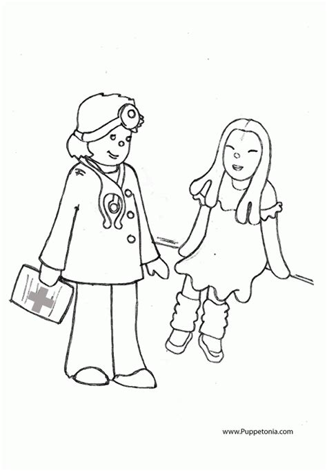 preschool doctor coloring page doctor coloring pages for kids coloring home