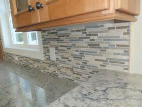 how install glass mosaic tile kitchen backsplash install how to install a tile backsplash