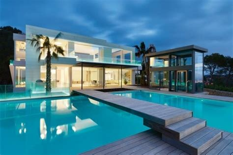 Beautiful Homes For Sale In Las Vegas With Swimming Pool #2: Maison-contemporaine-luxe-01-600x400.jpg