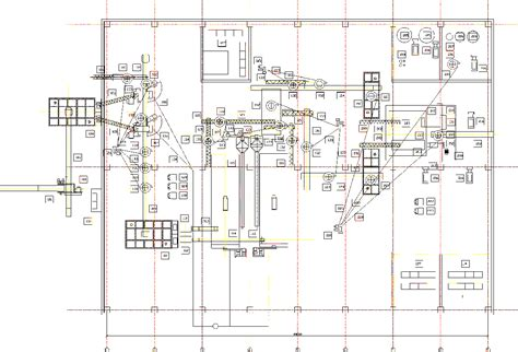 product layout graph flow chart of layout of production line of 100000 m 3