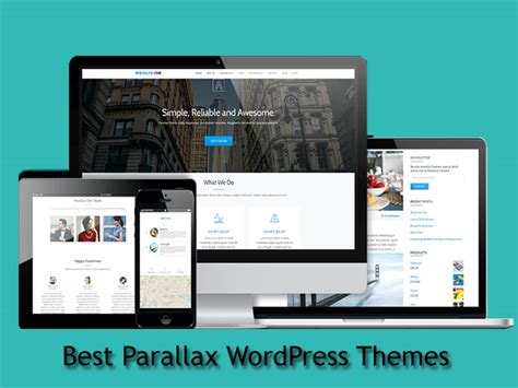 top10 best parallax wordpress themes 2017 download