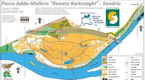 ufficio scolastico sondrio nuova mappa da orienteering parco adda mallero renato