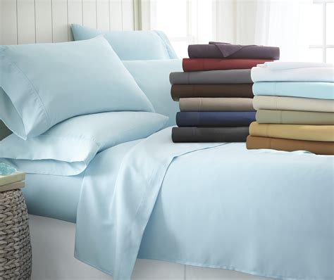 buy ultra soft bedding sheets from bed bath beyond premium ultra soft 6 piece bed sheet set home bed