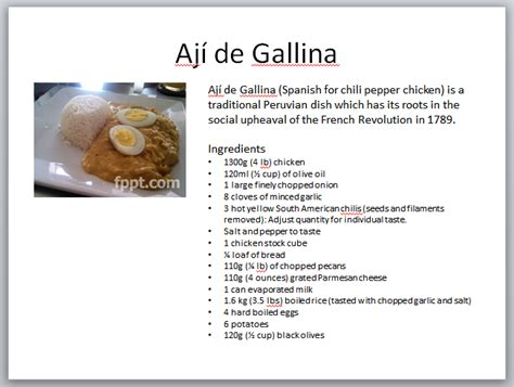 Recipe Powerpoint Template how to create a cookbook powerpoint presentation with free