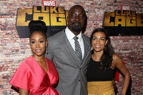 mike colter and family the cast of marvel s luke cage were stunningly vibrant