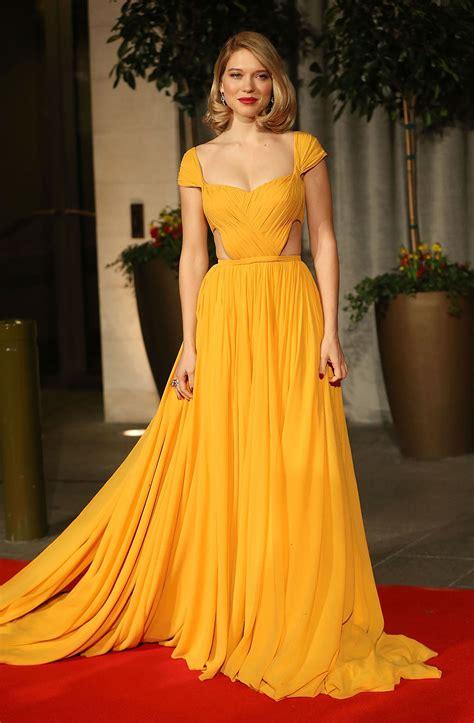 lea seydoux prada l 233 a seydoux in prada at the 2015 baftas fashionsizzle