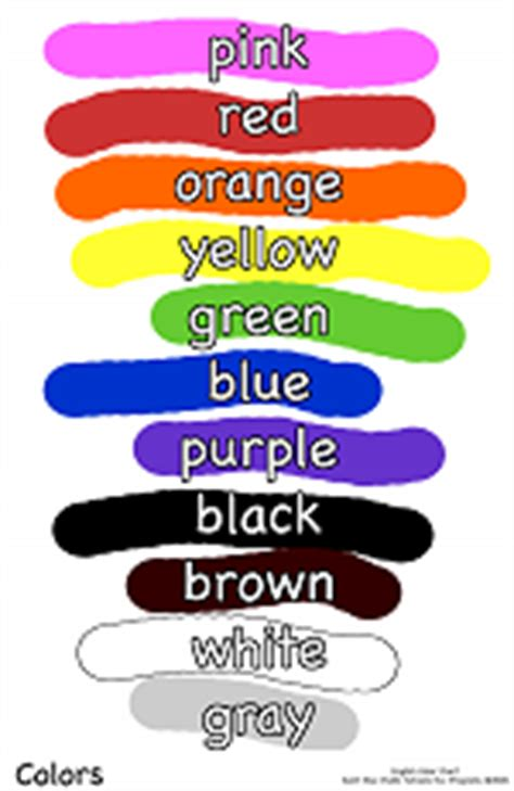 colors what color do you like english speaking ciao bambini 2013 07 14