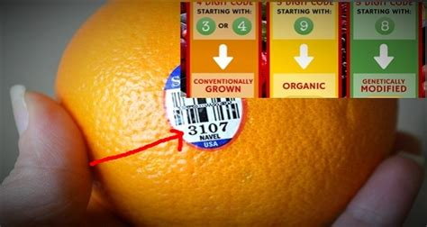 fruit 4 digit code if you see this label on the fruit do not buy it at any