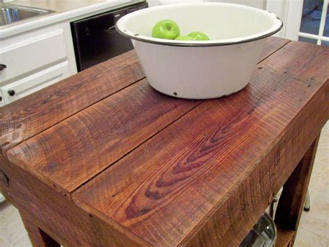 rustic kitchen island table our vintage home love how to build a rustic kitchen table