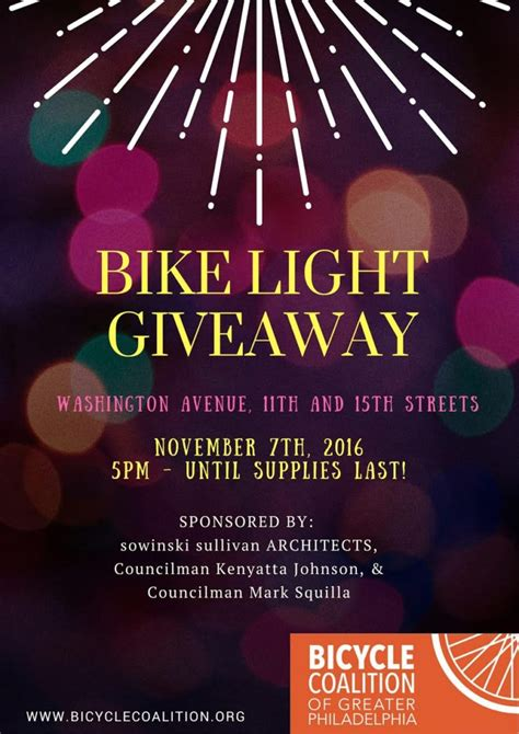 This Is Lit Giveaway by Bike Light Giveaway Tonight Bicycle Coalition Of