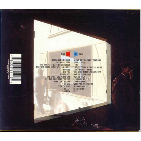 pink floyd best of pink floyd echoes the best of cd x 2 en vente sur