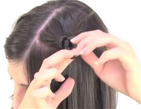 tutorial rambut pendek wanita tutorial rambut wanita gaya simple untuk rambut pendek