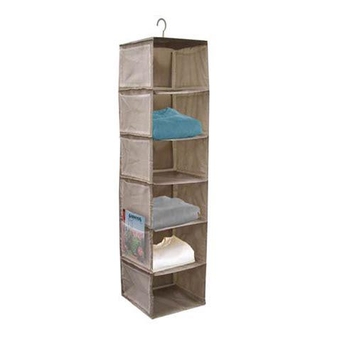 rotating closet organizer in hanging closet shelves
