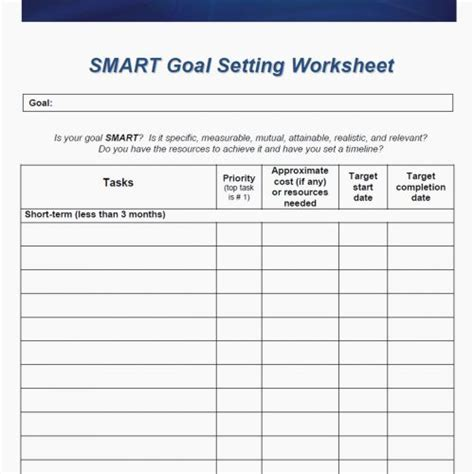 Yearly Goal Setting Worksheet 2018 New Year Workbook 25 Printable Pages Wp Landingpages Com 2018 Goal Setting Template