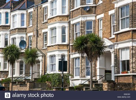 houses to buy in north london victorian terraced houses in north london highgate and hstead stock photo