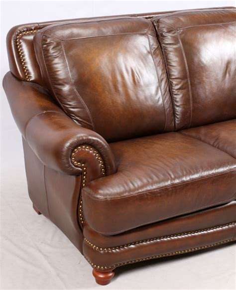 Superb Creation Ltd Leather by Modern Leather 3 Cushion Sofa And Settee