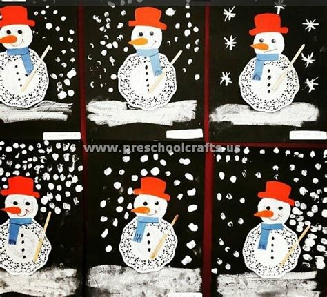 Snowman Paper Crafts For - snowman craft ideas from paper plate preschool crafts