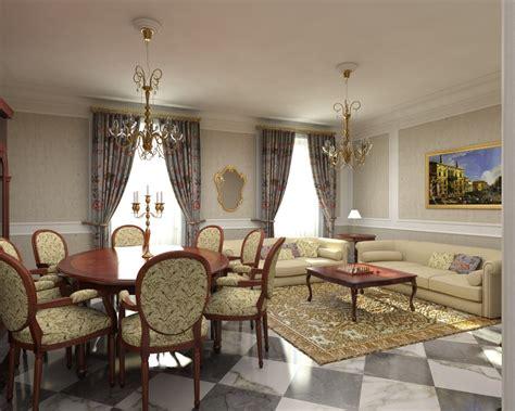 tende da salotto classico illuminazione soggiorno classico ladari lade