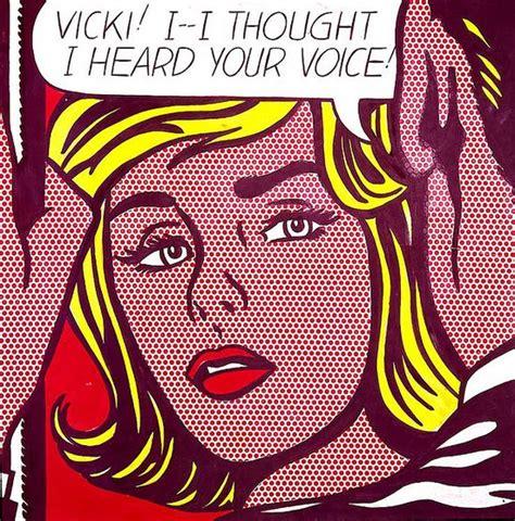 roy lichtenstein movement the influence of history on modern design pop