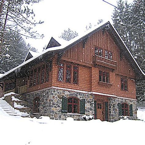chalet house plans cabin style houses amicalola bavarian one hot december men at work 3 by tiffany reisz