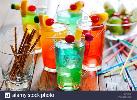 colorful cocktails colorful cocktails stock photos colorful cocktails stock
