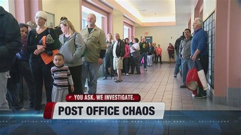 frustration mounts as lines at las vegas post