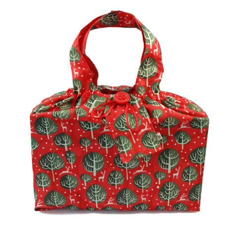 gift wrap for large items gift wrap in reusable fabric large fabric gift bag