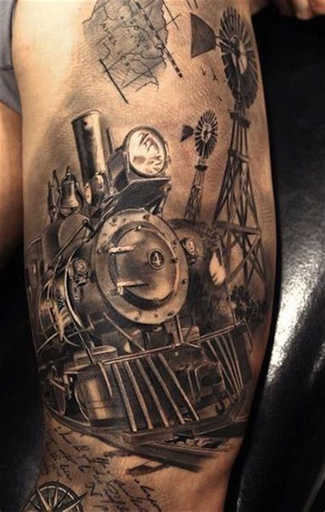 train tattoo designs arm tattoos egodesigns we