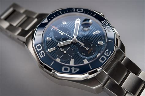 In Depth Review  TAG Heuer Aquaracer 300m Calibre 16 Ceramic Bezel   The Home of TAG Heuer