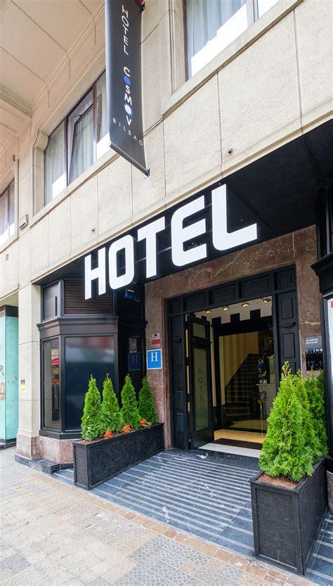 entrada hotel galer 205 a cosmov bilbao hotel