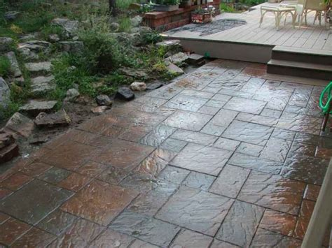 Patio Surface by The Best Patio Surface For Colorado Springs Four Seasons