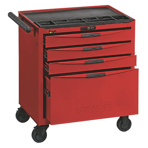 4 Drawer Tool Chest by Teng Tools Tcw804n 4 Drawer 8 Series Roller Cabinet Tool