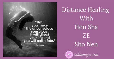 distance healing  hszsn reiki amazes