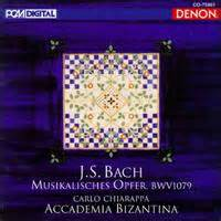bach musikalisches opfer the musical offering l musical offering bwv 1079 discography part 6 complete