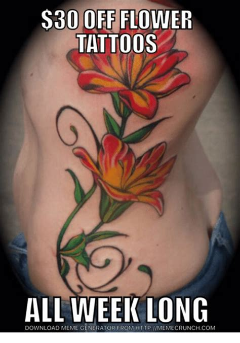flower tattoo generator 25 best memes about flower tattoo flower tattoo memes