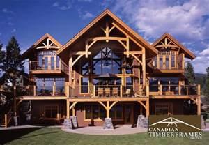 A Frame Style House Custom Timber Frame Homes