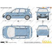 The Blueprintscom  Vector Drawing Renault Scenic