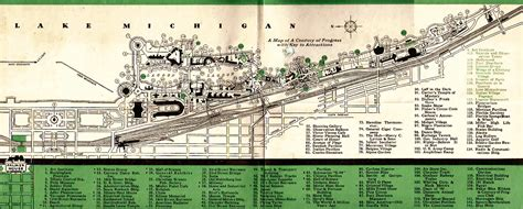 chicago worlds fair map tickets and passes worlds fair