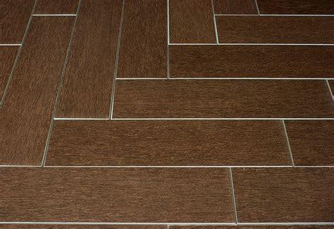 Plank Floor Tile Mahogany Wood Plank Porcelain Modern Wall And Floor Tile Other Metro By Tile Stones