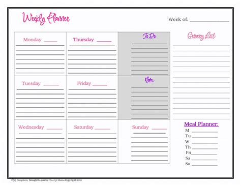 free 2017 monthly calendar templates download blank page