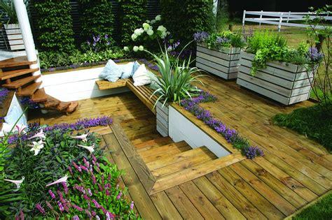 10 small garden decking ideas real homes