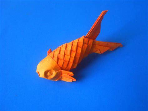 Paper Folding Fish - origami scaled fish by kosmu on deviantart