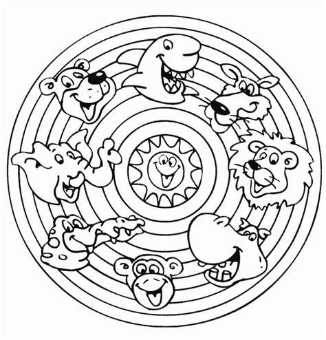 animal mandala coloring pages pdf animal mandala colouring pages coloring home