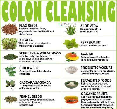 Detox Diet Foods To Avoid by Do Not Underestimate The Health Benefits Of A Colon